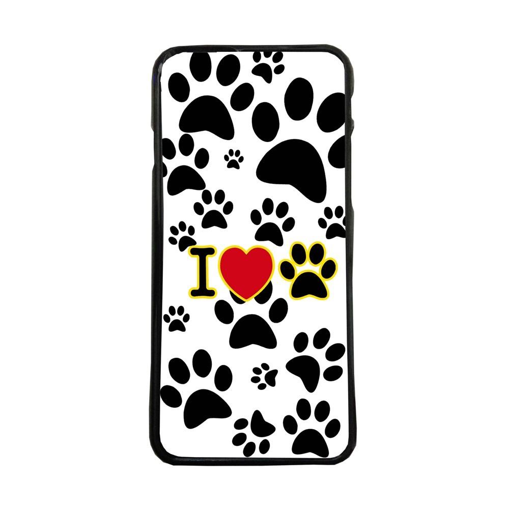 Carcasas De Móvil Fundas De Móviles De TPU Modelo huella perros