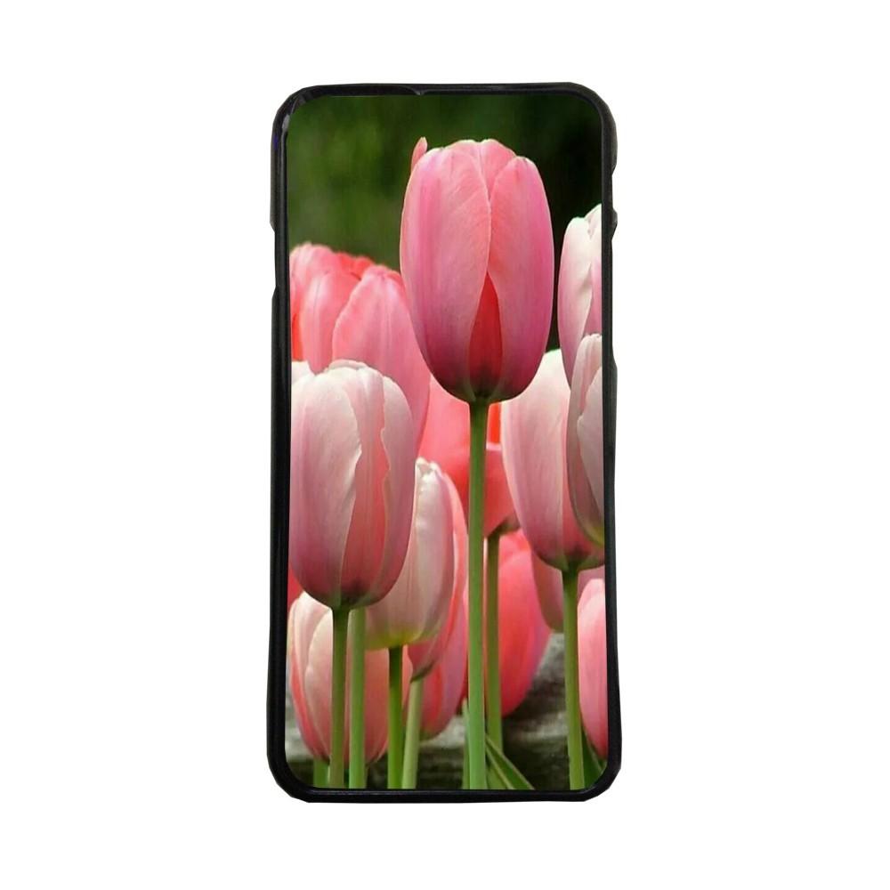 Carcasas De Móvil Fundas De Móviles De TPU Modelo tulipanes flores