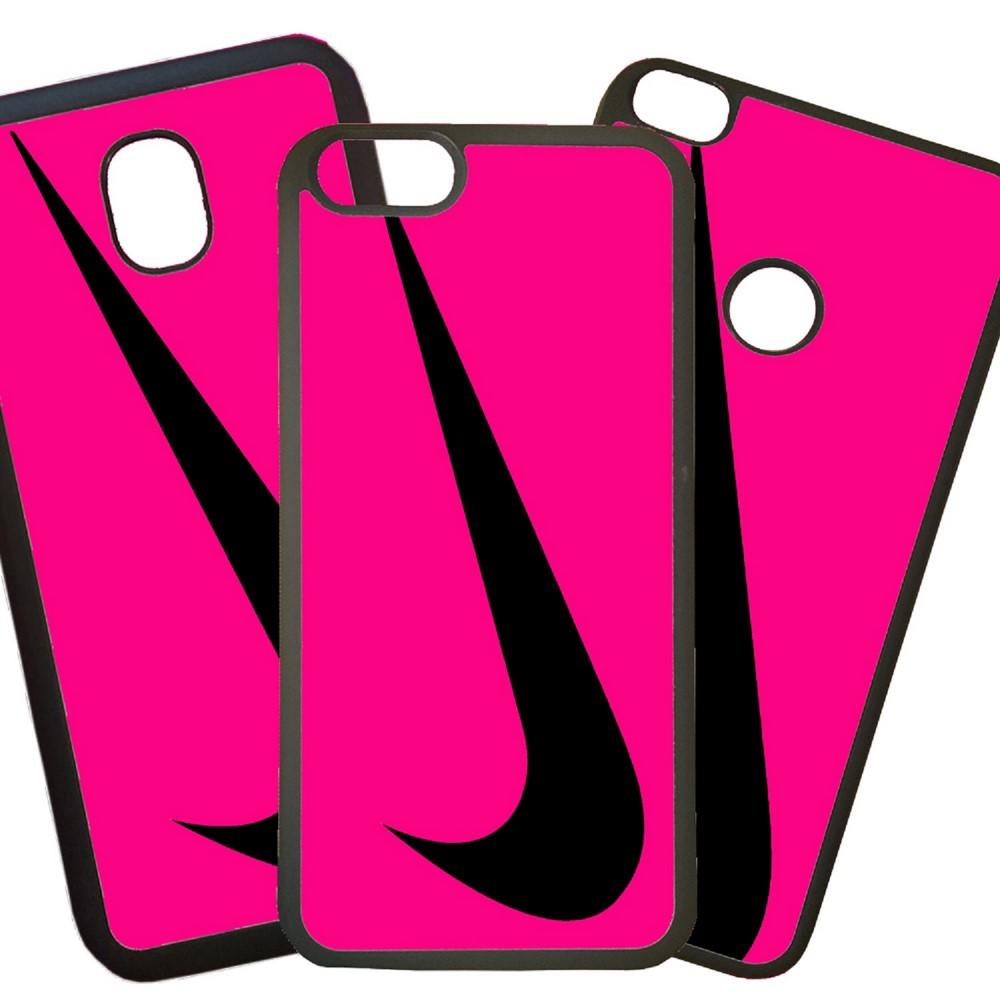Carcasas De Móvil Fundas De Móviles De TPU Modelo Nike logo fucsia