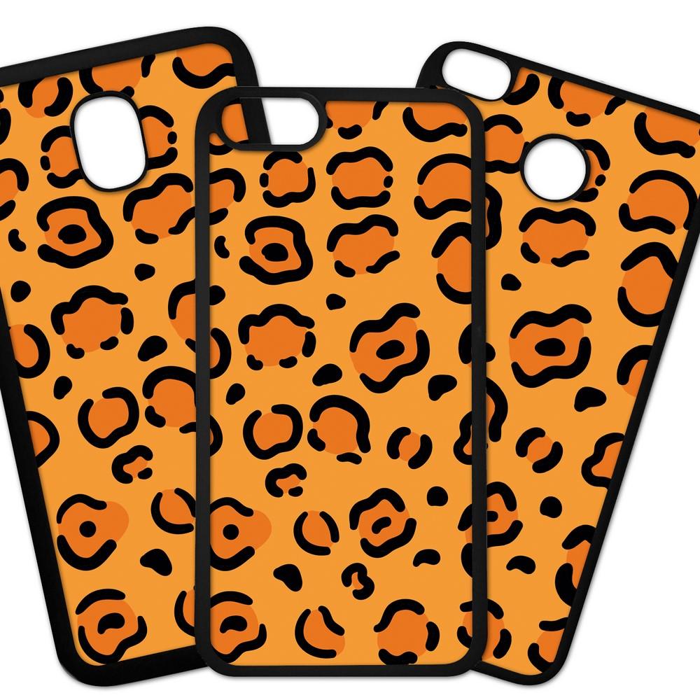 Carcasas De Móvil Fundas De Móviles De TPU Modelo Fondos colores dibujo originales diseño leopardo