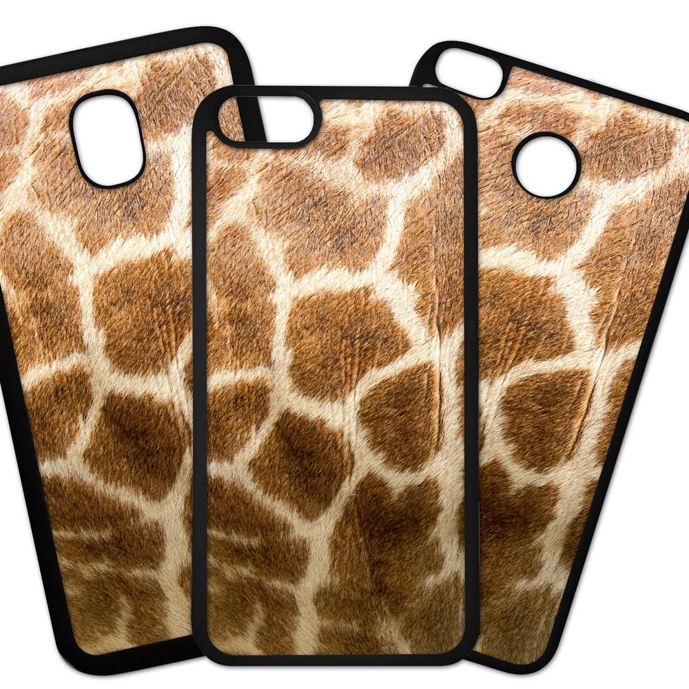 Carcasas De Móvil Fundas De Móviles De TPU Modelo Fondo imitacion tela, piel jirafa