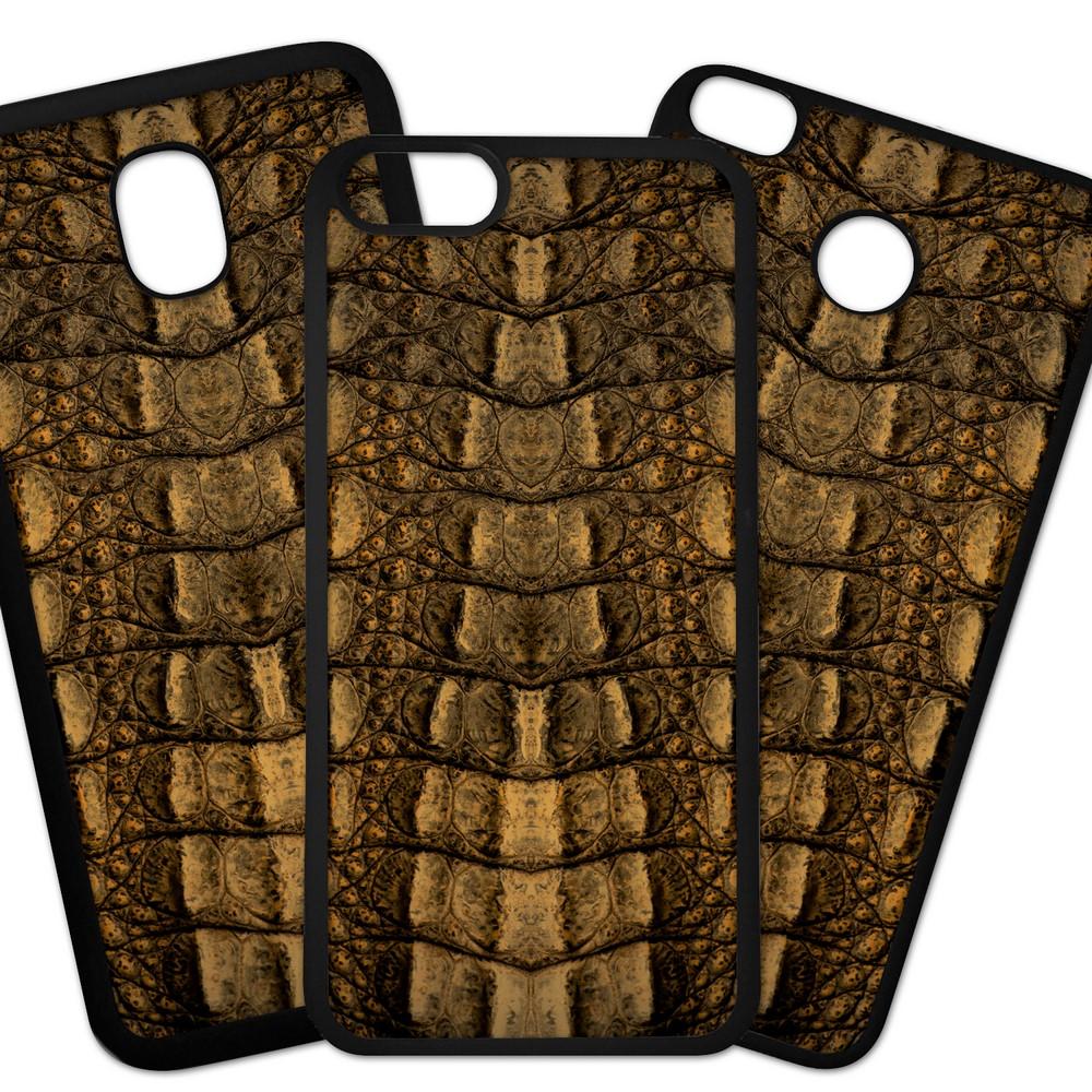 Carcasas De Móvil Fundas De Móviles De TPU Modelo Fondo imitacion tela, piel de cocodrilo