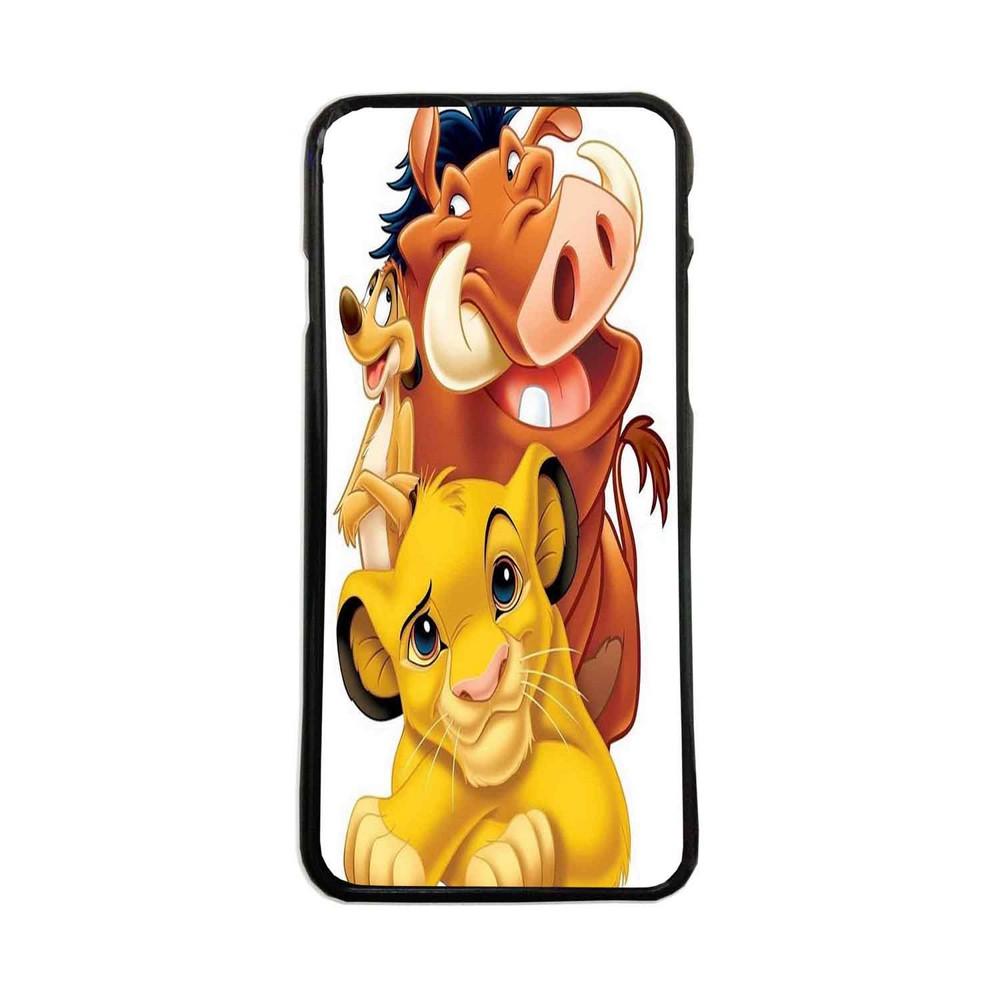 Carcasas De Móvil Fundas De Móviles De TPU Modelo El rey leon Simba Pumba y  Timon